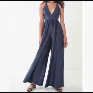 Urban Outfitters Other - Urban Outfitters Navy Blue Jumpsuit